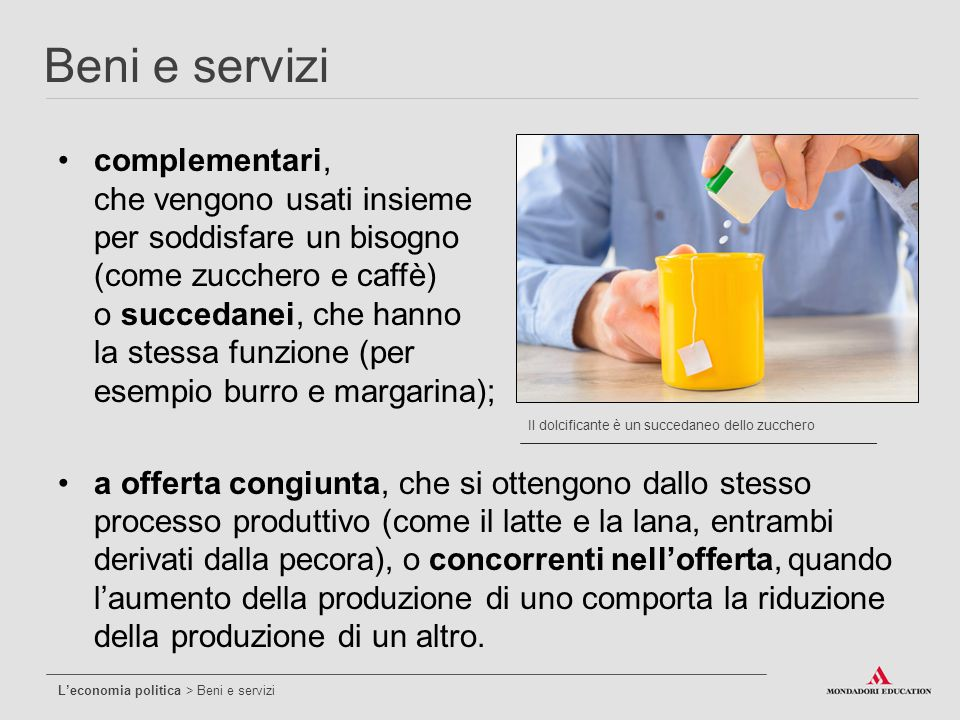 Beni e servizi