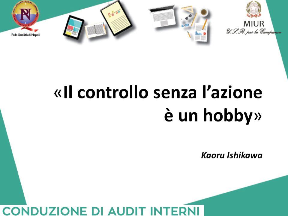 «Il controllo senza l'azione è un hobby»
