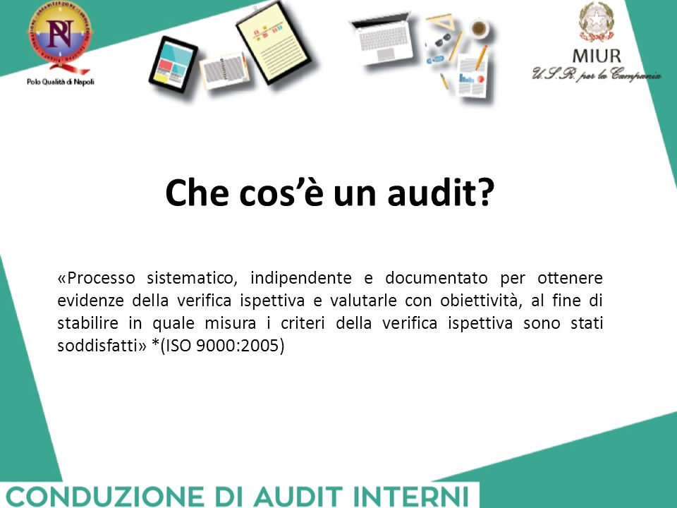Che cos'è un audit