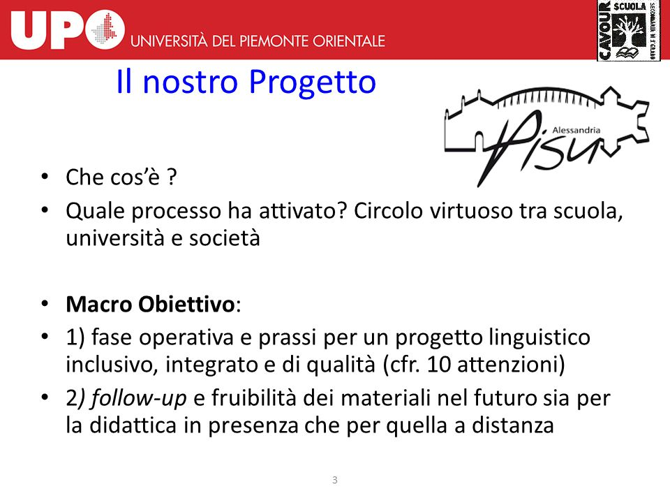 Educare alla lingua e alla cittadinanza Parliamo Italiano Socialmente Uniti