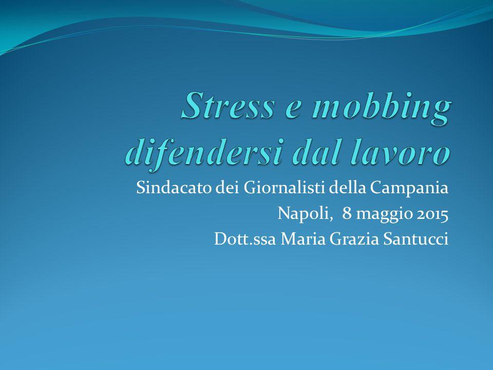 Stress e mobbing difendersi dal lavoro