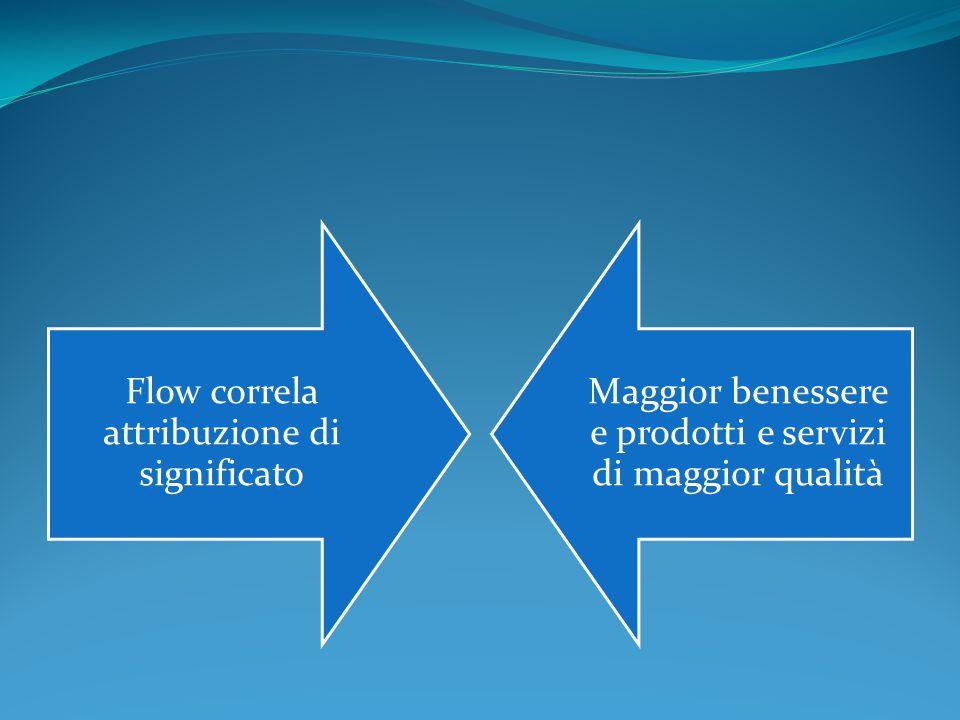 Flow correla attribuzione di significato
