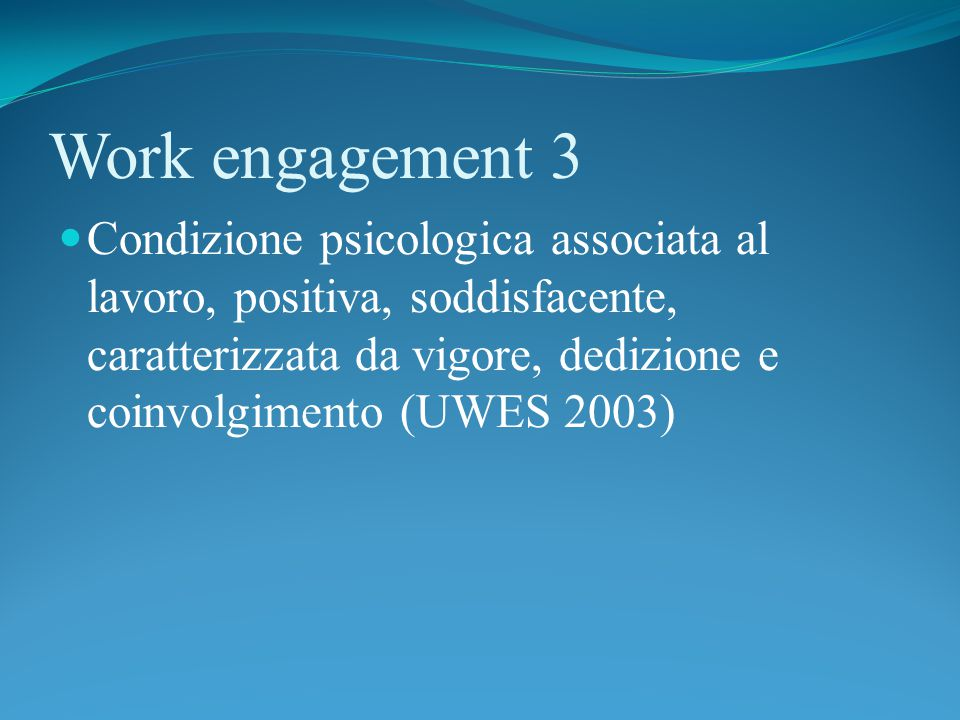 Work engagement 3