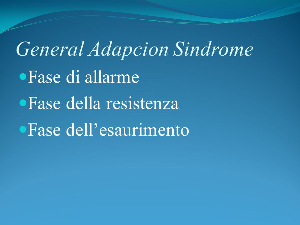 General Adapcion Sindrome