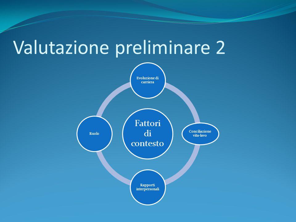 Valutazione preliminare 2