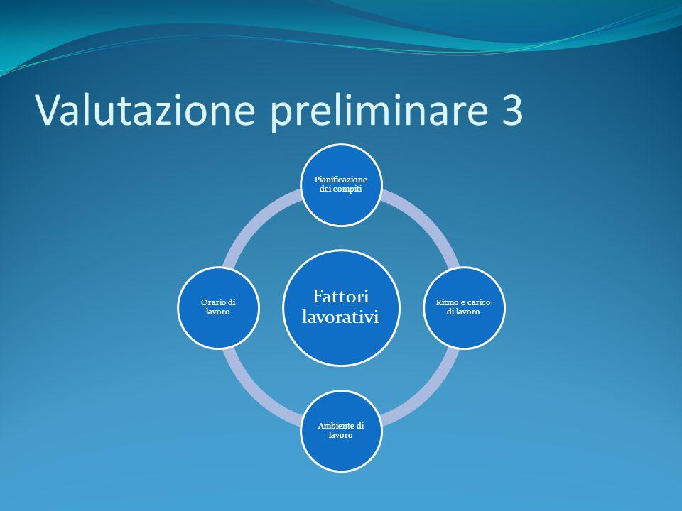 Valutazione preliminare 3