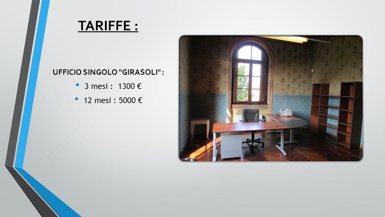 UFFICIO SINGOLO GIRASOLI :