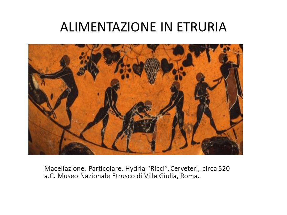 ALIMENTAZIONE IN ETRURIA