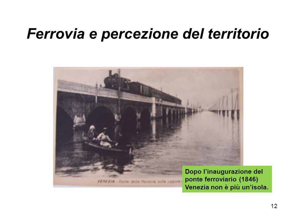 Ferrovia e percezione del territorio