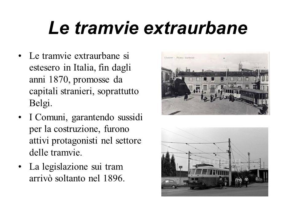 Le tramvie extraurbane