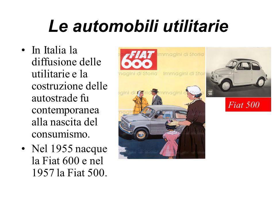 Le automobili utilitarie