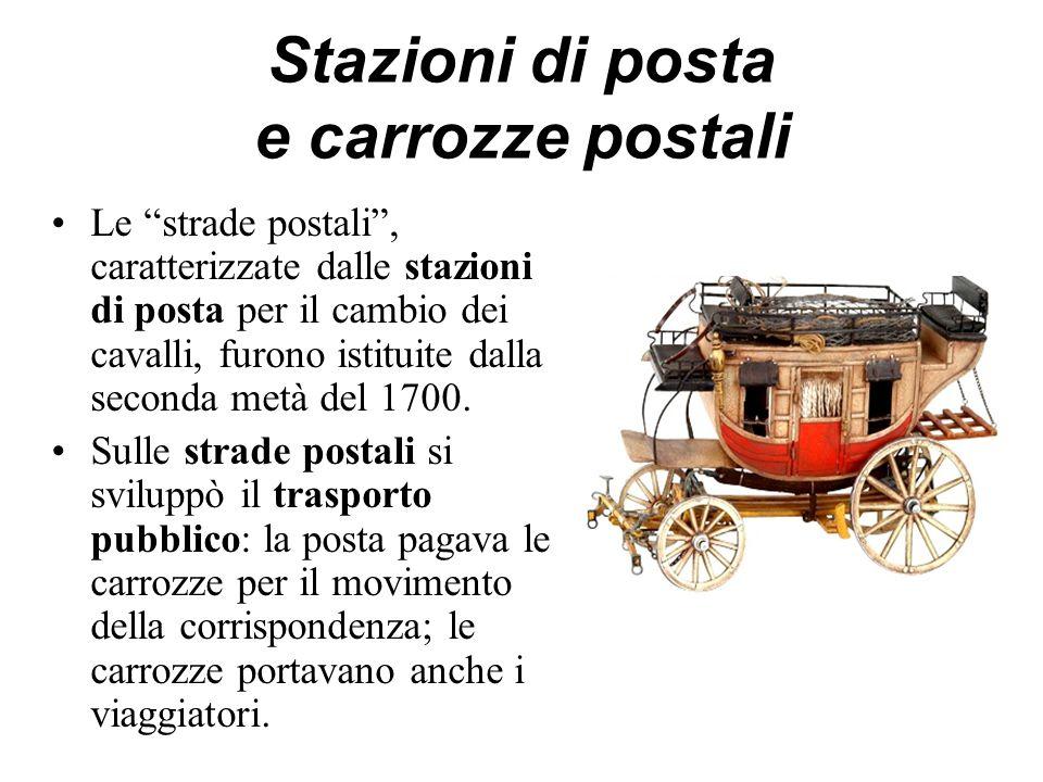 Stazioni di posta e carrozze postali