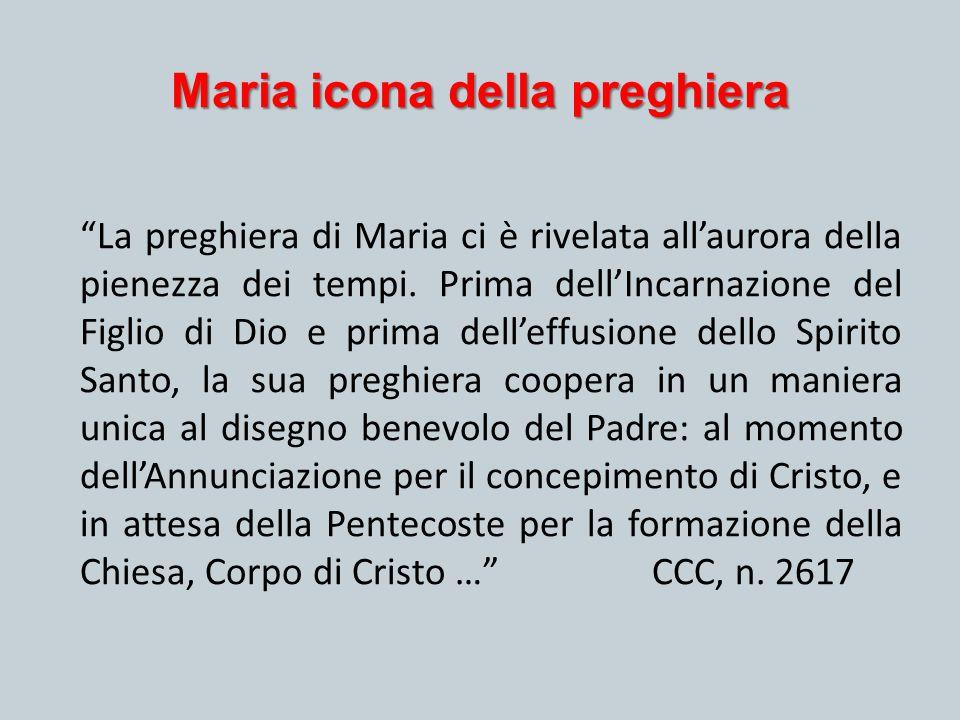 Maria icona della preghiera