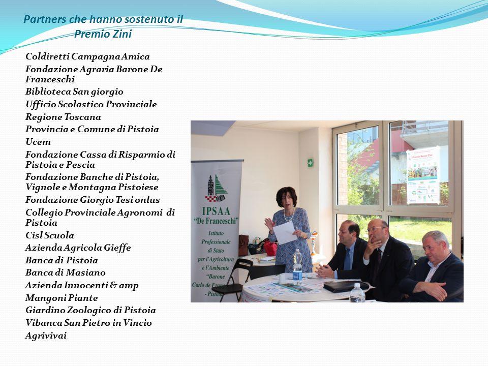 Partners che hanno sostenuto il Premio Zini