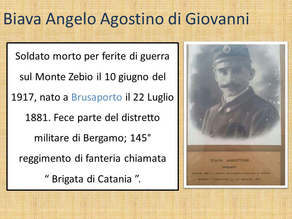 Biava Angelo Agostino di Giovanni