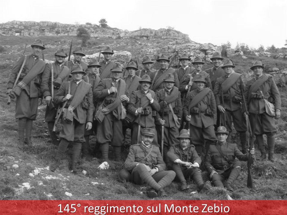 145° reggimento sul Monte Zebio