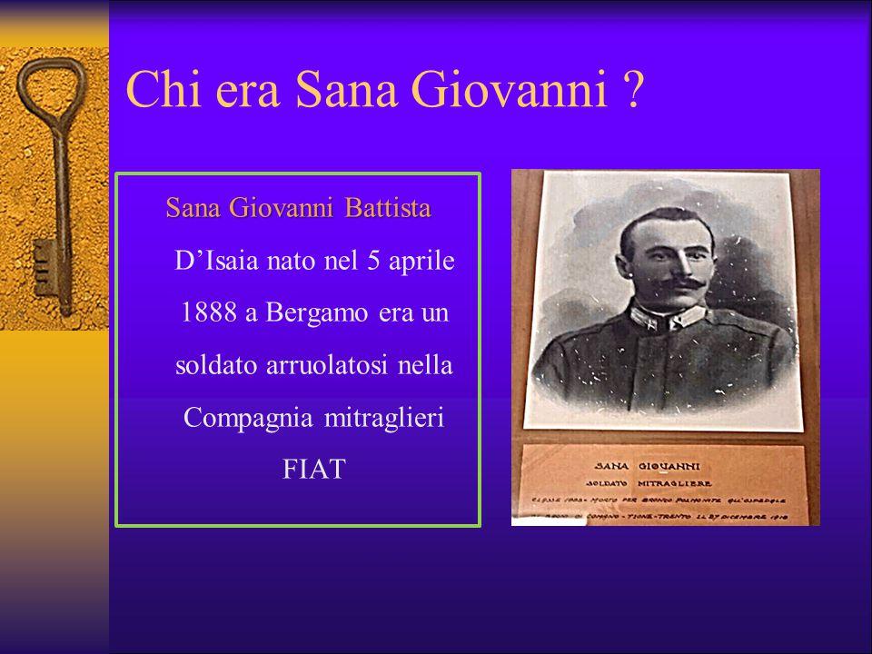 Chi era Sana Giovanni .
