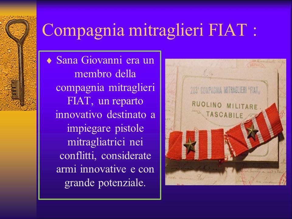 Compagnia mitraglieri FIAT :