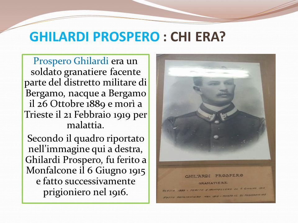 GHILARDI PROSPERO : CHI ERA