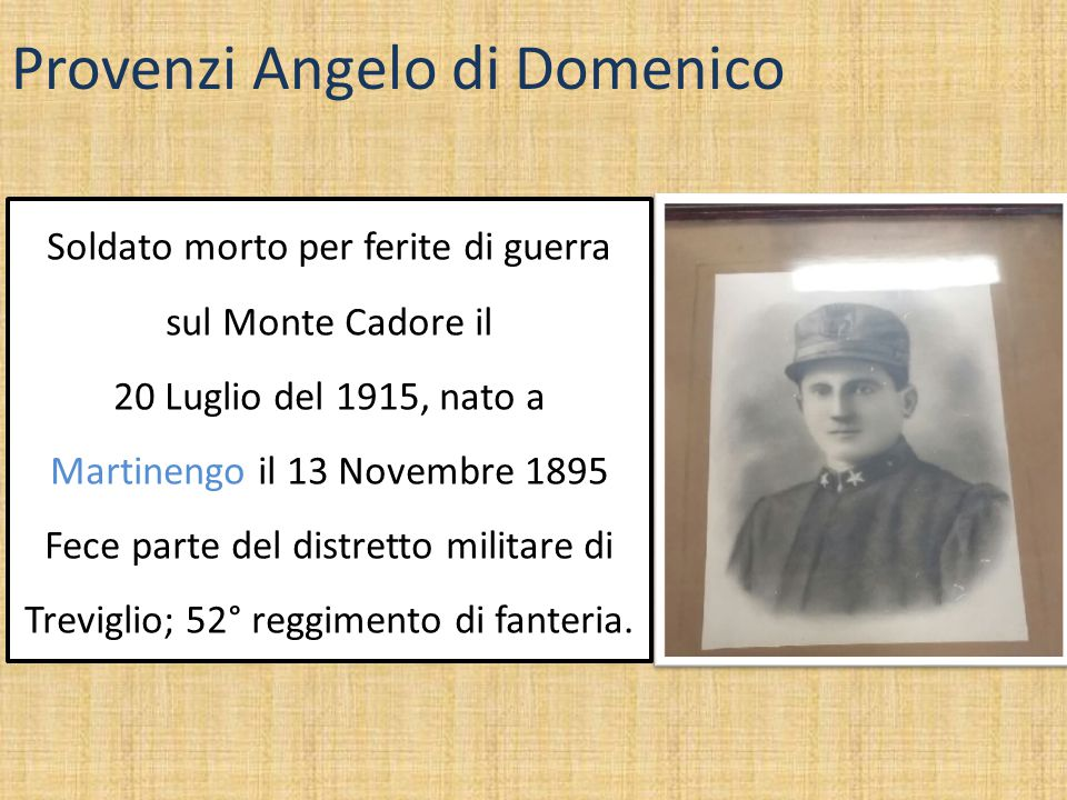 Provenzi Angelo di Domenico