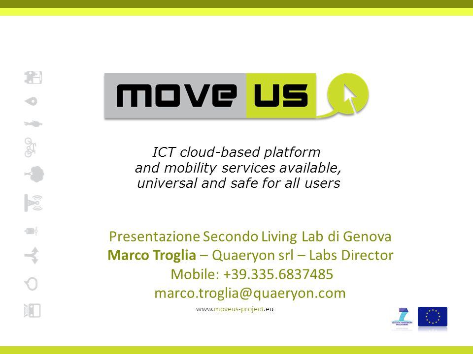 Presentazione Secondo Living Lab di Genova