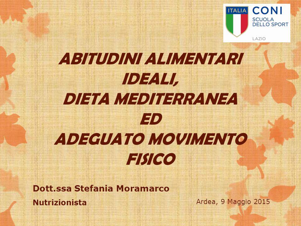 Dott.ssa Stefania Moramarco Nutrizionista