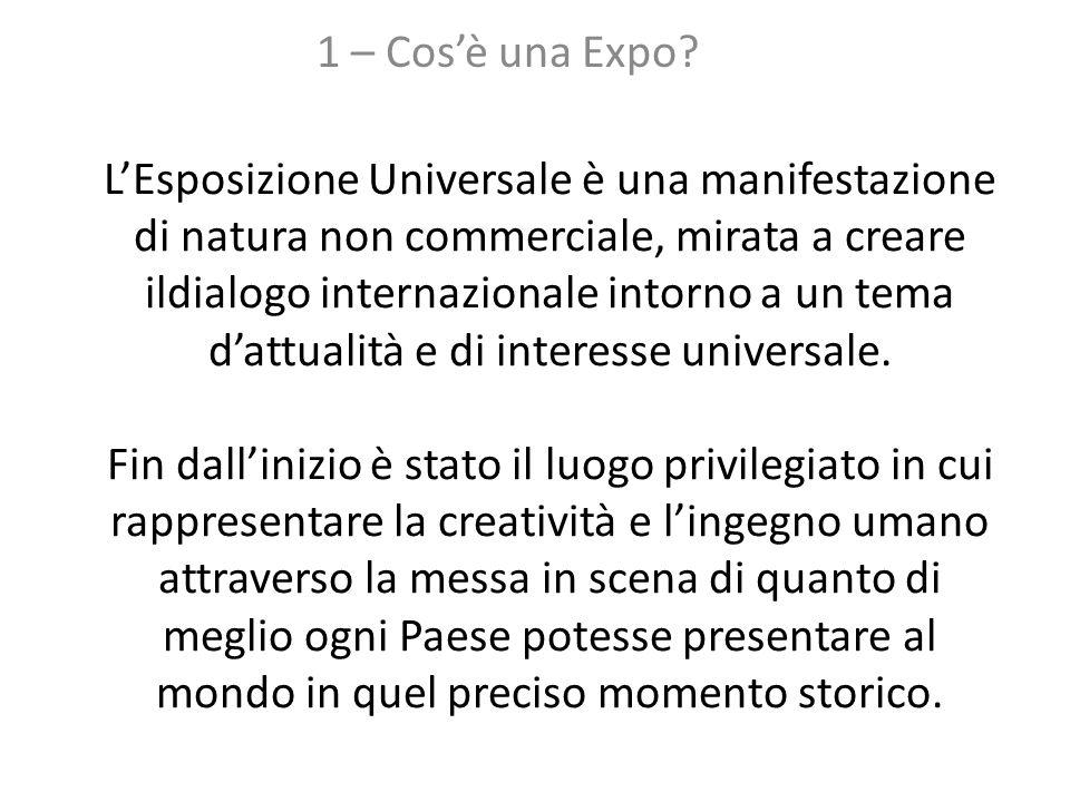 1 – Cos'è una Expo