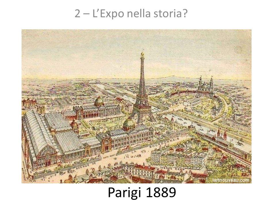 2 – L'Expo nella storia Parigi 1889