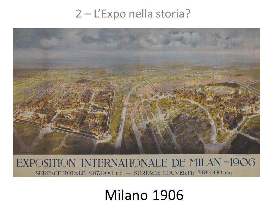 2 – L'Expo nella storia Milano 1906