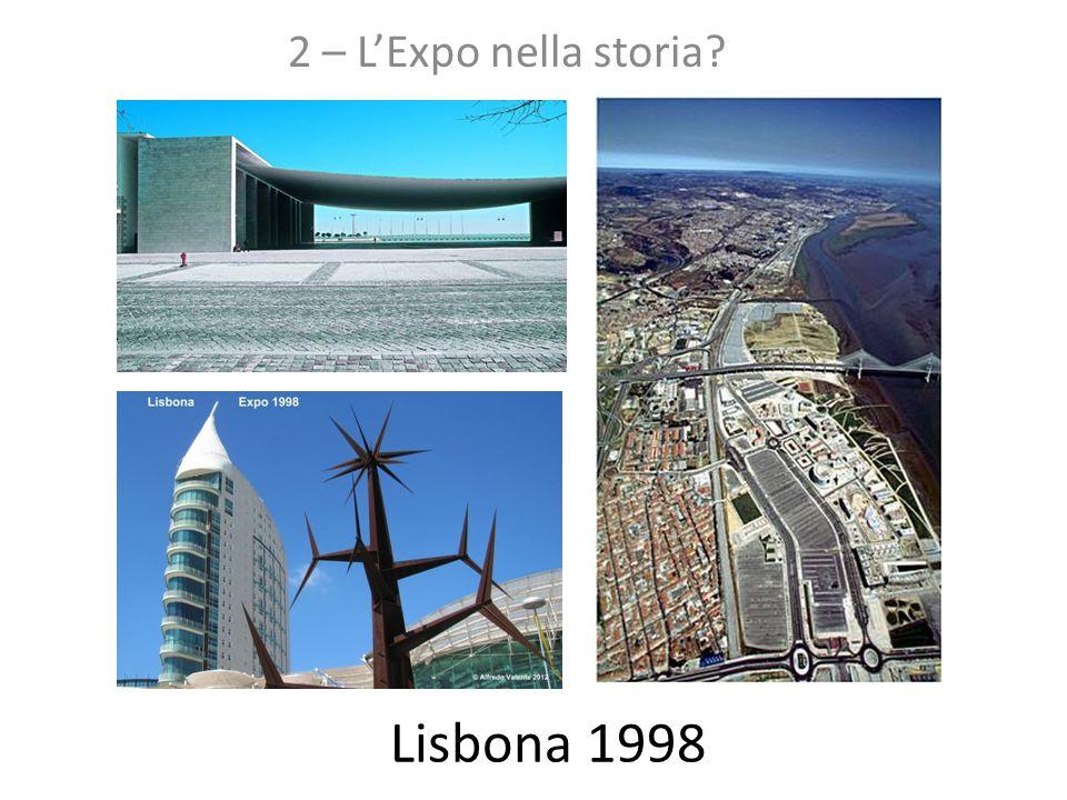 2 – L'Expo nella storia Lisbona 1998