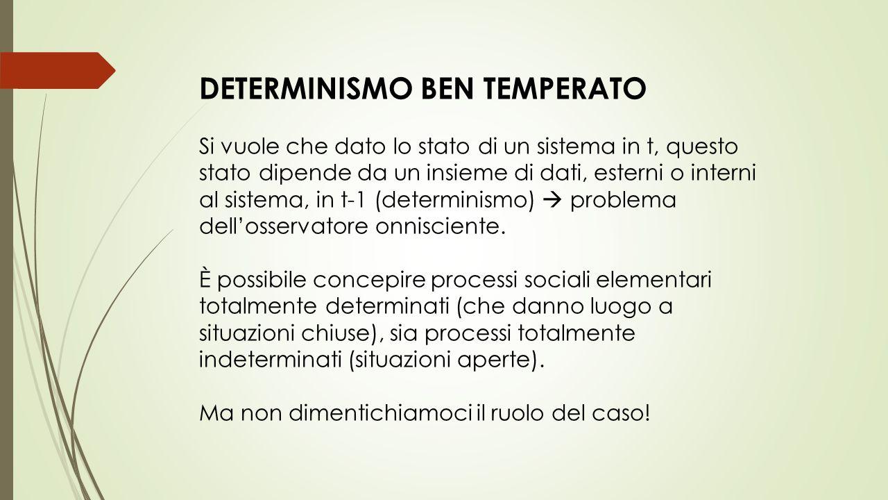 DETERMINISMO BEN TEMPERATO