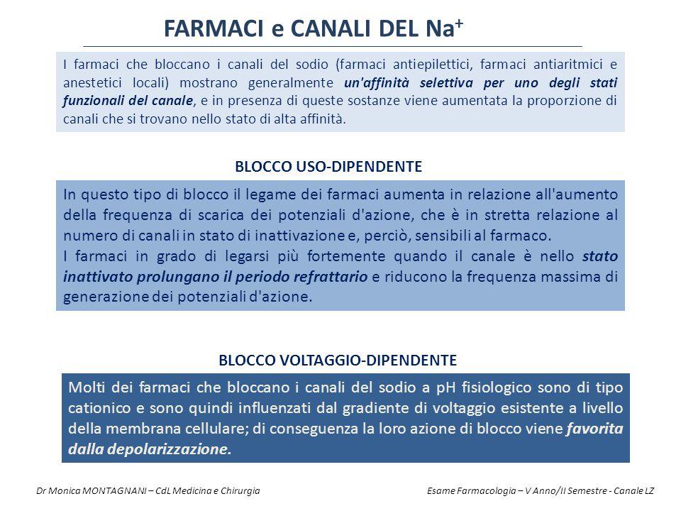 FARMACI e CANALI DEL Na+