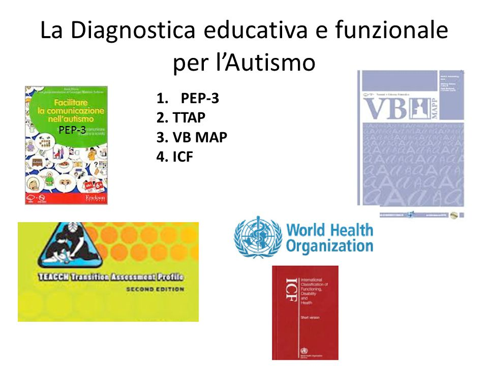 La Diagnostica educativa e funzionale per l'Autismo