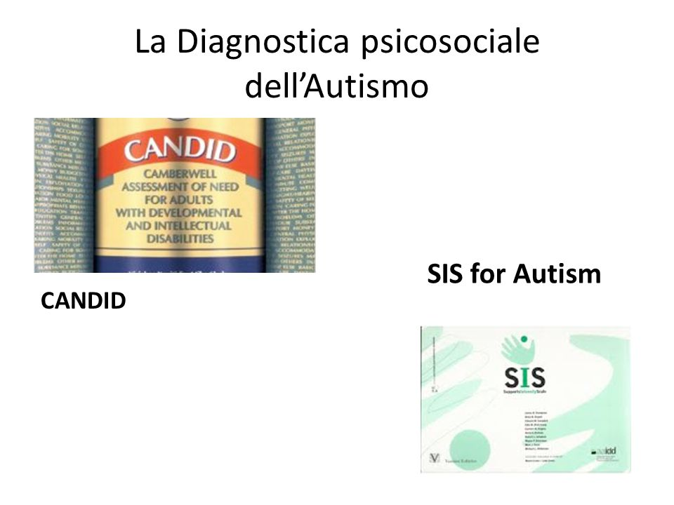 La Diagnostica psicosociale dell'Autismo