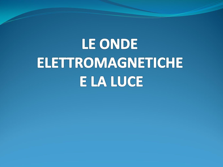 ELETTROMAGNETICHE E LA LUCE