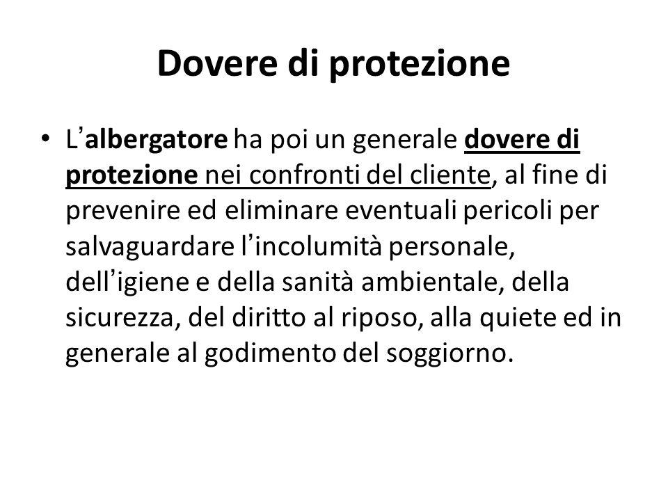 Dovere di protezione