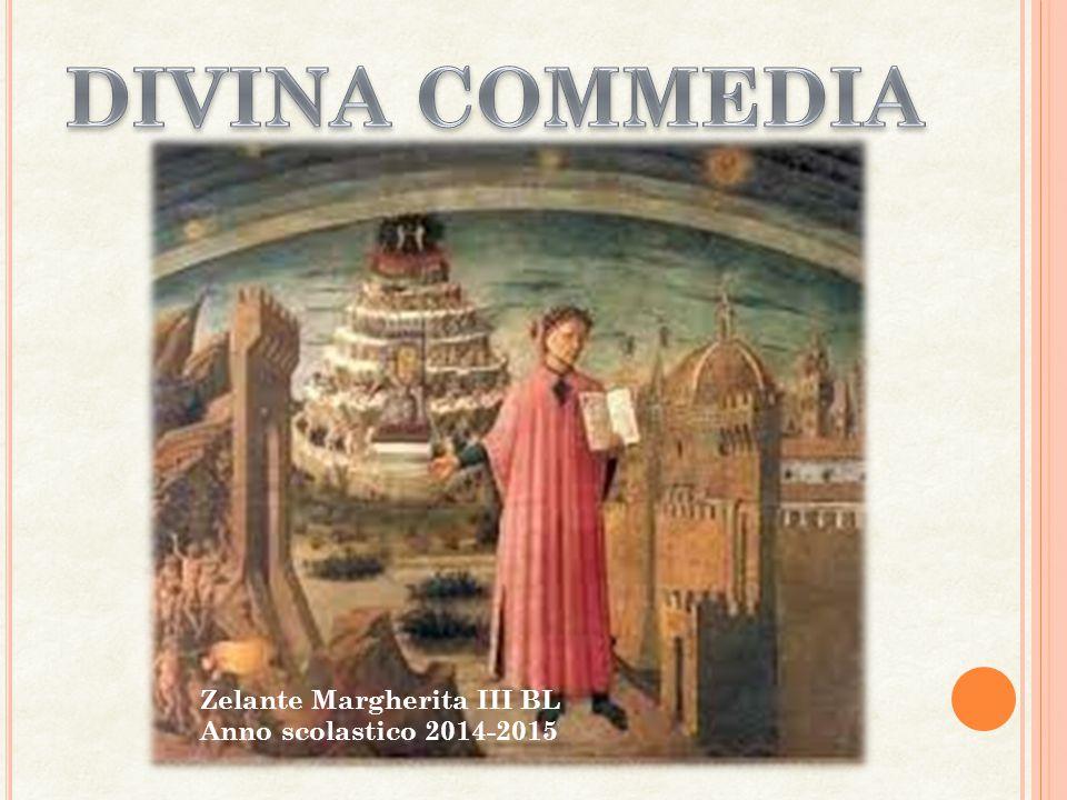 DIVINA COMMEDIA Zelante Margherita III BL Anno scolastico 2014-2015