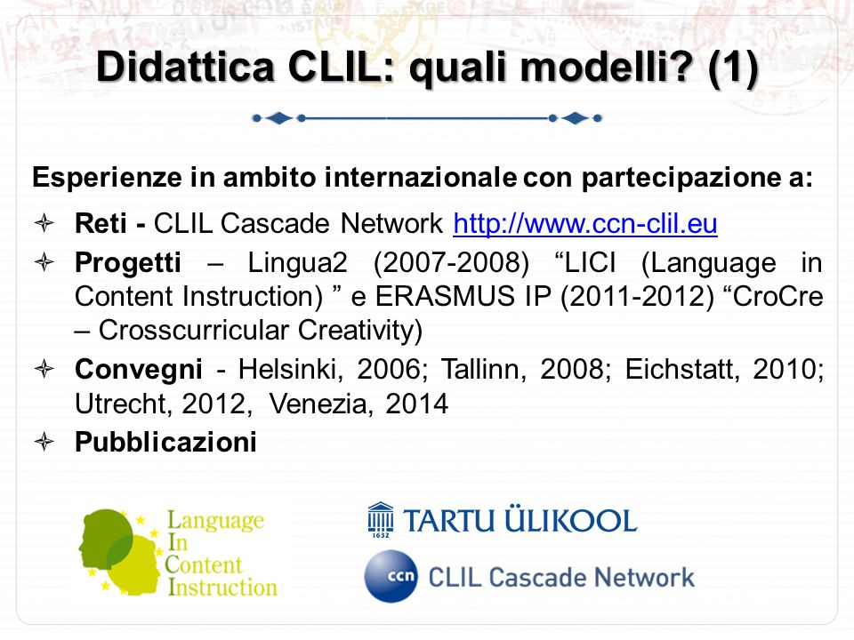Didattica CLIL: quali modelli (1)