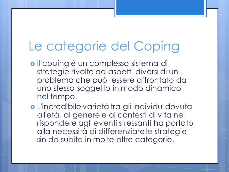 Le categorie del Coping
