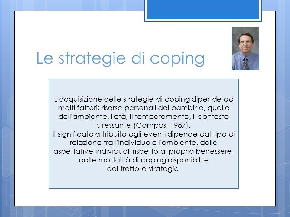 Le strategie di coping