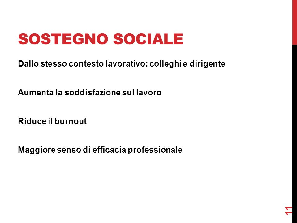 Sostegno sociale