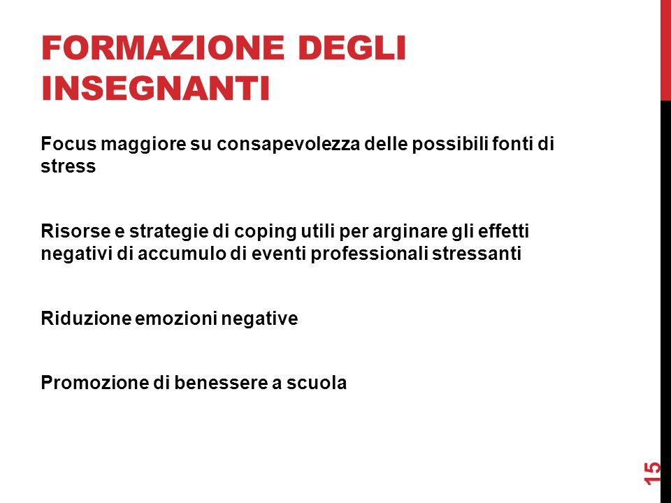 Formazione degli insegnanti