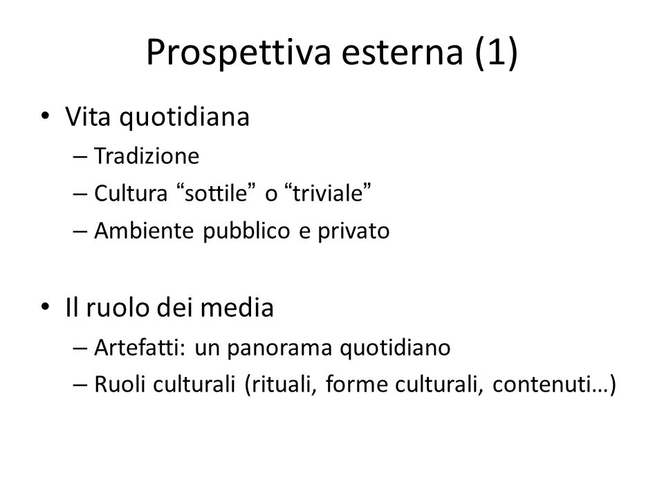 Prospettiva esterna (1)