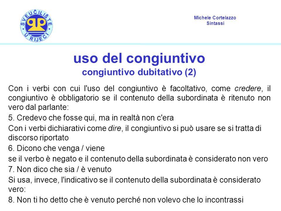 congiuntivo dubitativo (2)