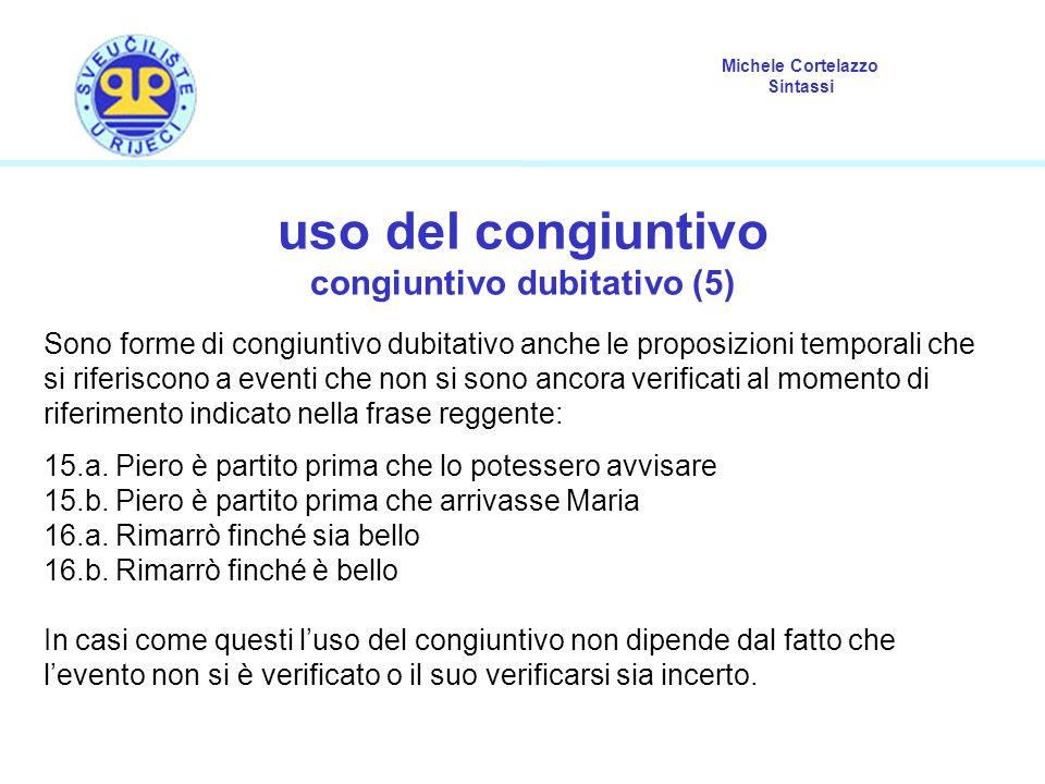 congiuntivo dubitativo (5)
