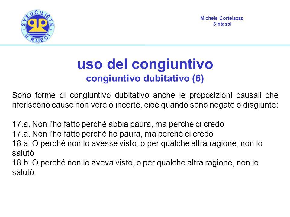 congiuntivo dubitativo (6)