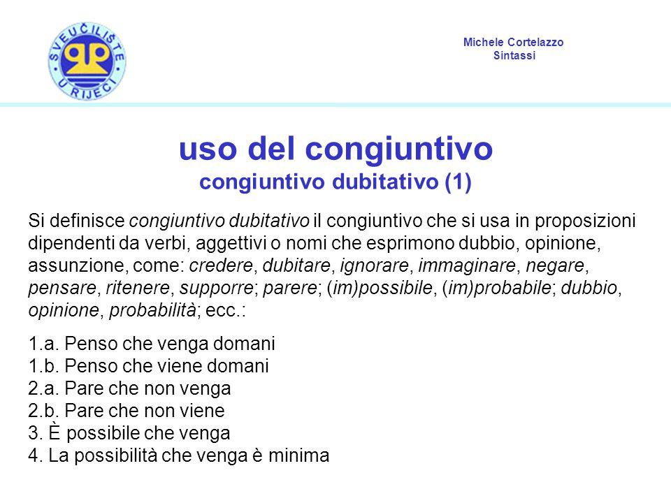 congiuntivo dubitativo (1)