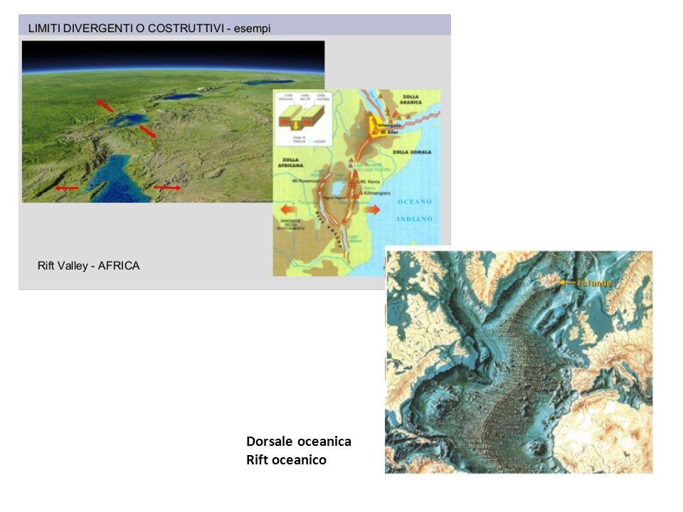 Dorsale oceanica Rift oceanico