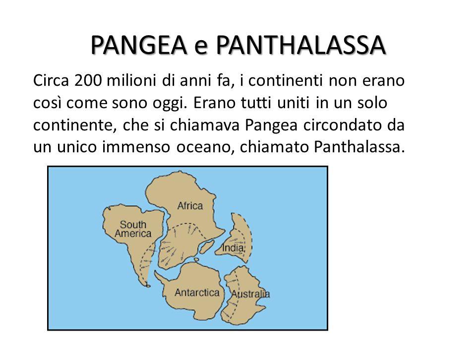 PANGEA e PANTHALASSA