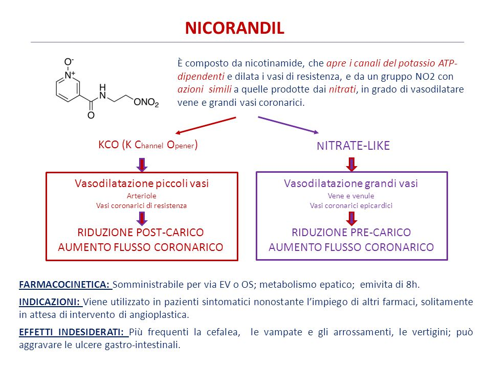 NICORANDIL KCO (K Channel Opener) Nitrate-like